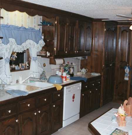 Kitchen on Country Kitchen Cabinets