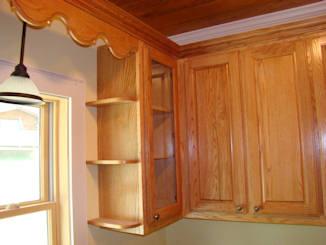 Oak cabinet crown molding http billthacker com new oak cabinets htm